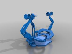 Iron Man Gantry System 3D Print Model