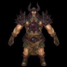 Monster Man 03 3D Model