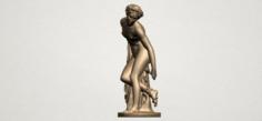 Naked Girl 05 3D Model