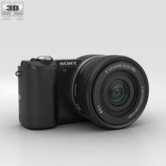 Sony Alpha A5000 Black 3D Model