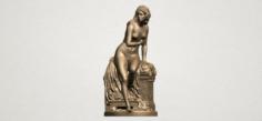 Naked Girl 01 3D Model