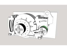 Combination Lock – work in progress 3D Print Model