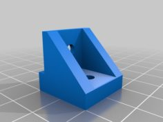 3.5″ hard drive mount to a flat surface 3D Print Model