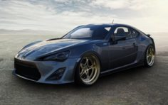 Toyota GT86 Bagged 3D Model