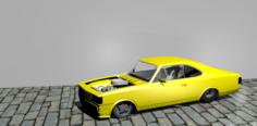 Chevrolet opala drag racer 3D Model