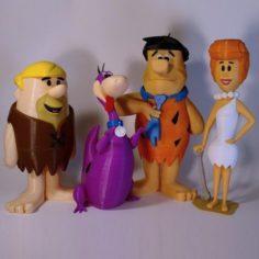 The Flintstones comic book 3D Print 3D print model 3D Model