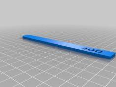 Sanding sticks with engraved grit size 3D Print Model