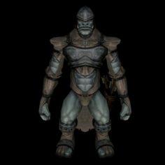 Monster 01 3D Model