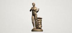 Naked Girl 02 3D Model