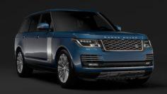 Range Rover Autobiography LWB L405 2018 3D Model