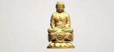 Gautama Buddha 02 3D Model
