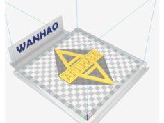 Arkham Door Sign 3D Print Model