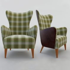 Duke arm chair 3D Model
