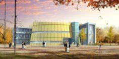 School building 062 3D Model