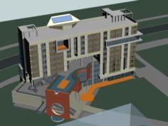 School building 117 3D Model