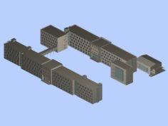 School building 132 3D Model