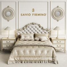 Savio Firmino 1696 Bedroom                                      3D Model