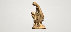 Venus and Cupid 01 3D Model