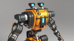 Bot GK9 3D Model