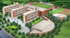 School building 093 3D Model