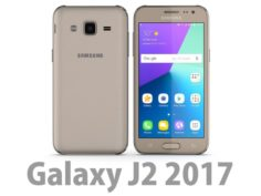 3D Samsung Galaxy J2 2017 Gold 3D Model