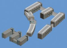 School building 148 3D Model