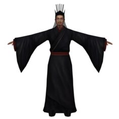 Chinese Man Character 03 3D Model