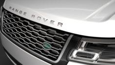 Range Rover Autobiography P400e LWB L405 2018 3D Model
