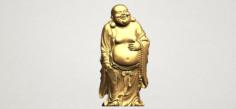 Metteyya Buddha 01 3D Model