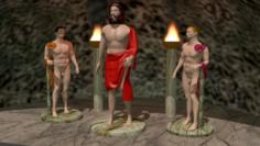 Statues Free 3D Model