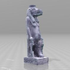 Taweret sculpture scan 3D Print Model