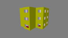 Empty Rooms For Easy Level Design 3D Model