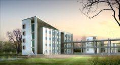 School building 114 3D Model