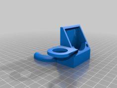 Fan Housing with sensor mount 3D Print Model