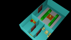 Flat – Designed by my son 3D Model