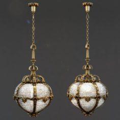 Palace Hotel chandelier 3D Model