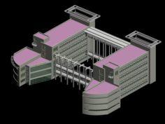 School building 152 3D Model