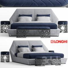 Bed longhi Yume                                      3D Model