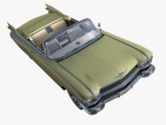 Cadillac Eldorado 62 series 1959 convertible 3D Model