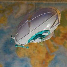 Battle zeppelin lamp 3D Print Model