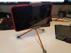 Tablet Stand / Tripod (works with Samsung Tab A 8.0 2017) 3D Print Model