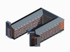 School building 021 3D Model