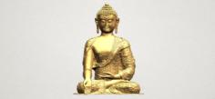 Thai Buddha i 3D Model