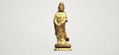 Avalokitesvara Buddha – Standing 03 3D Model