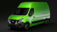 Nissan NV 400 L2H3 Van 2017 3D Model