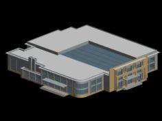 School building 144 3D Model