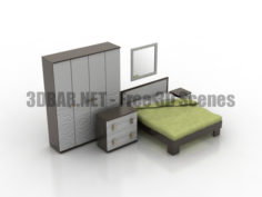 Bedroom set 3D Collection