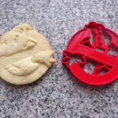 ghostbusters cookie cutter ghostbusters 3D Print Model