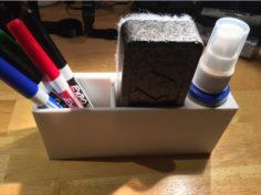 Expo Dry Erase Marker set magnetic holder 3D Print Model