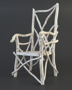 Tale old chair 3D Model